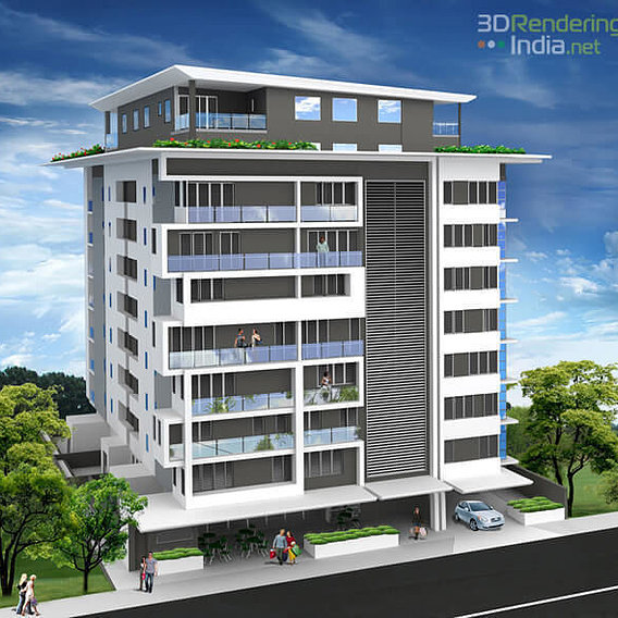 3D Architectural Rendering | 3D Rendering | 3D Animation