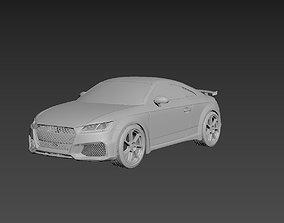 Audi TT 2021 Body For Print