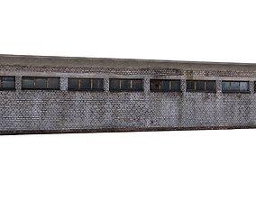 3D model Factory Building 04 02