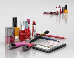 Makeup cosmetics 3D