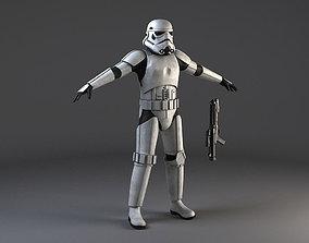 Star Wars Storm Trooper Rigged 3D