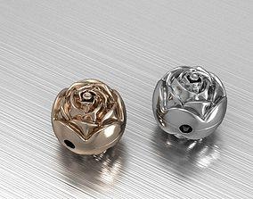 rose bead 3D printable model
