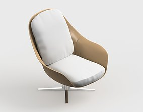 armchair modern 14 3D model