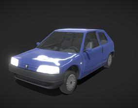 Peugeot 106 1996 3D asset
