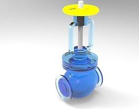 3D model GAS COMPRESSOR VALVE