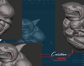 SHARK HUMAN 3D