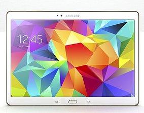 3D Samsung Galaxy Tab S 10 5 White