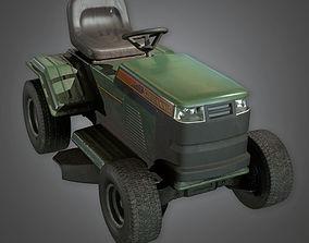 Riding Lawnmower TLS - PBR Game Ready 3D asset