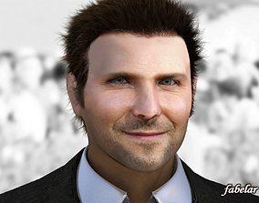 Bradley Cooper Vray 3D model