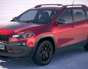 Jeep Cherokee 2019 3D model