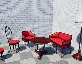 3D model luxury furniture pack