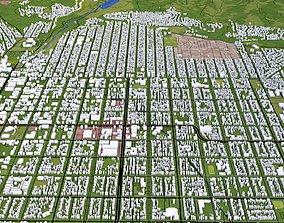 Salt Lake City 3D asset