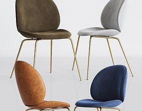 Gubi Beetle Dinning Chair 3D