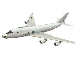 Airborne Laser Plane Cutaway 3D model