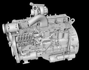 Diesel engines 3D model