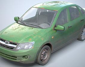 3D model Generic Modern Sedan Set