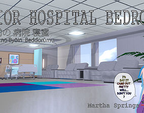PRIOR Hospital Bedroom 3D
