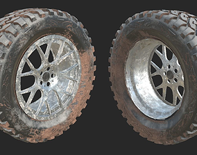 3D Dirty Wheel