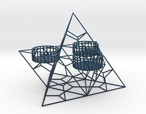 3D printable model Tealight Holder Pyramid
