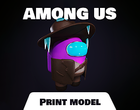 Among us Print Model - Skin 3D print model figurines