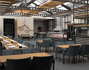 3D Cafe Design Restaurant Design Steakhose