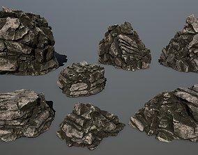 rocks 01 3D model