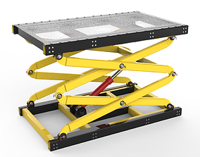 Scissor Table Lift 3D Model equipment