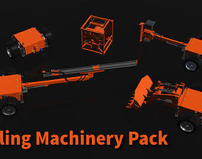 3D model Drilling Machinery Pack