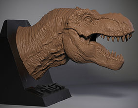 3D printable model T-rex Tyrannosaurus