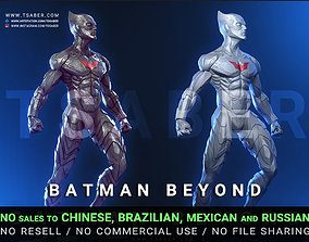 Batman 3d model - Batman figurine villain