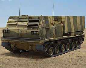 rocket M270 MLRS 3D model