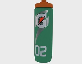 Gatorade 02 bottle 3D model