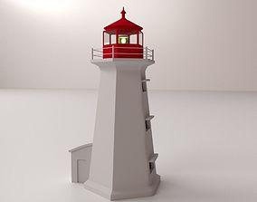architecture Lighthouse 3D model