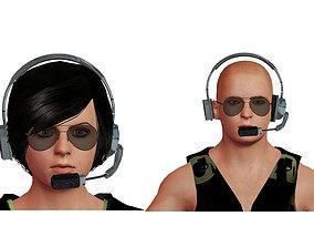 3D model Couple Pack-1