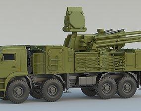 SAM Pantsir S1 SA-22 3D model