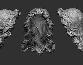 3D stylized hair