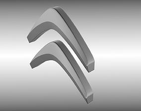 3D model Citroen logo