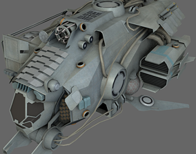 Gas Harvester MS 3D asset