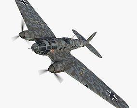 3D asset Heinkel He 111 5J-GH