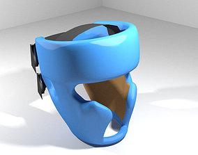 Martial-Art Headguard - Type 2 3D model