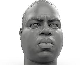 Notorious BIG Biggie 3D printable portrait