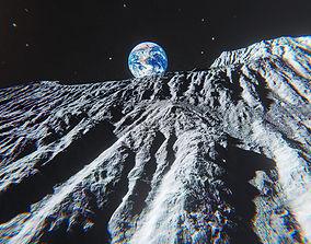 3D model Moon Environment Pack - Unity 2017