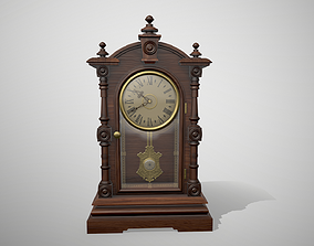 3D model Antique Mantel Clock