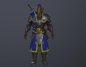 Warcraft Footman 3D asset