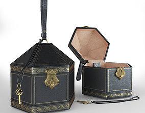 3D woman GUCCI women leather handbag