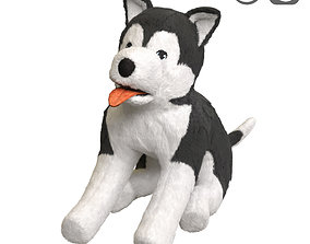3D LIVLIG Soft toy dog siberian husky