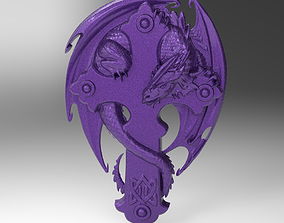 the serpent and the cross 3D print model