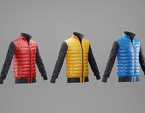 3D model Winter jacket pack