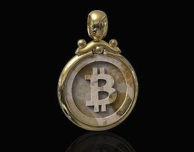 Bitcoin Pendant 3D printable model
