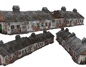 3D model Old house Kolkhoz 01 03